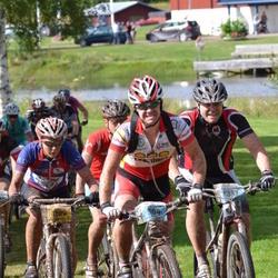 Cycling 90 km - Tom Vingård (837), Marcus Ericson (904), Henriette Brynthe (1109)
