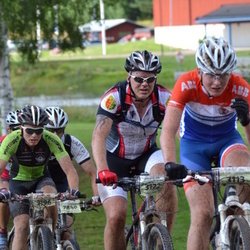 Cycling 90 km - Albin Ahlbäck (3113), Ola Wallin (3122), Espen Utgård Saether (3196)
