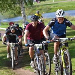 Cycling 90 km - Georg Kaufmann (2817), Alexander Grindberg (3027)