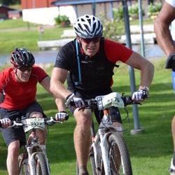 Cycling 90 km - Anders Stegelius (3477), Anders Sundblad (3579)