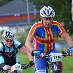 Cycling 90 km - Linda Hansson (2696), Fredrik Juslin (2734)