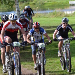 Cycling 90 km - Arvo Teppola (2835), Hans Daniels (4258), Marianne Foss (4366)