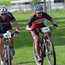 Cycling 90 km - Bo Fredriksson (3456), Jeff Jackett (4236)