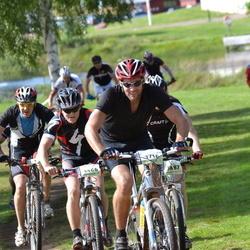 Cycling 90 km - Anton Medbo (3466), Fredrik Lans (3716)