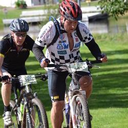 Cycling 90 km - Fredrik Oscarsson (3616), Jan Roger Broen (3851)