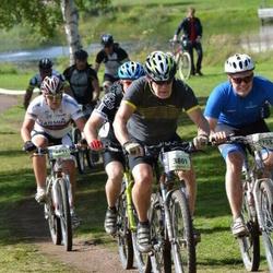 Cycling 90 km - Rune Gerdtman (3801), Emil Grankvist (4631), Petter Larsson (4755)
