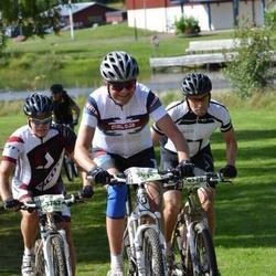 Cycling 90 km - Anders Nyström (3747), Frank John Hallberg (3932), Mikael Langryd (4520)