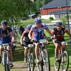 Cycling 90 km - Tohmas Ax (2380), Mikael Olsson (3505), Christian Dorch (4003)