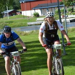Cycling 90 km - Lars-Petter Larsson (2810), Daniel Nordin (4725)
