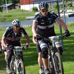 Cycling 90 km - Håkan Rudström (3698), Henrik Löfgren (4551)