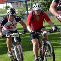Cycling 90 km - Johan Frisch (3776), Albin Hansson (4140)
