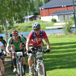 Cycling 90 km - Maciej Karpinski (2833), Erik Asplund (4057), Christian Rosendal (5584)