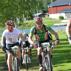 Cycling 90 km - Erik Asplund (4057), Christian Rosendal (5584)