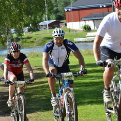Cycling 90 km - Lars Olsson (4807), Anders Morén (5517)