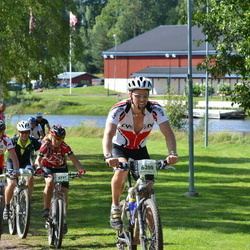 Cycling 90 km - Tobias Wittholt (6200), Carina Hultgren (6737)