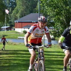 Cycling 90 km - Markus Kindberg (4178), Henrik Holmgren (5679)