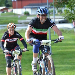 Cycling 90 km - Per Abrahamsson (5317), Jasmin Knoph (5699)