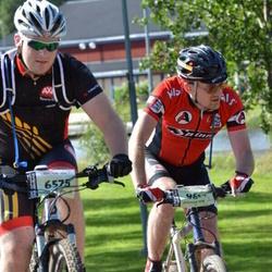Cycling 90 km - Daniel Morén (6575), Johan Stross (9614)