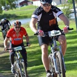 Cycling 90 km - Karolina Waldenmark (6085), Anders Larsson (6627)