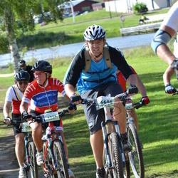 Cycling 90 km - Bodil Loken (3212), Anders Stenback (6608)