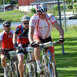 Cycling 90 km - Håvard Bakkan (3252), Stefan Nord (6321), Erik Trygg (6358)