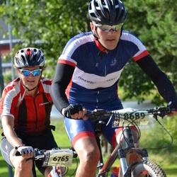 Cycling 90 km - Maria Lundborg (6765), Holger Kück (8689)