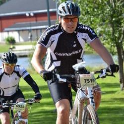 Cycling 90 km - Tomas Jepsen (6920), Anders Ek (7514)