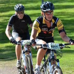Cycling 90 km - Jonas Berg (6482), Jenny Andersson (6556)