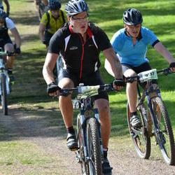 Cycling 90 km - Thomas Swederus (8029), Antti Piippo (9137)
