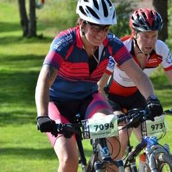 Cycling 90 km - Jenny Ingemarsdotter Ek (7094), Kristian Magnusson (9731)