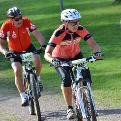 Cycling 90 km - Björn Ekeberg (6532), Carina Djuvfeldt (7851)