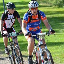 Cycling 90 km - Morgan Nilsen (8303), Anders Liden (8355)