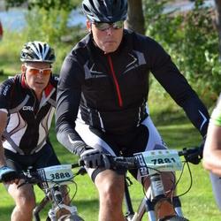 Cycling 90 km - Jonas Horney (3888), Henrik Johansson (7881)