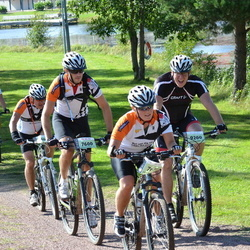 Cycling 90 km - Olof Sylvén (7600), Christer Askerot (9200)