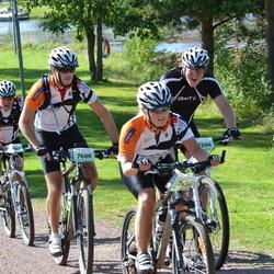 Cycling 90 km - Olof Sylvén (7600), Sara Furulind (7601), Christer Askerot (9200)