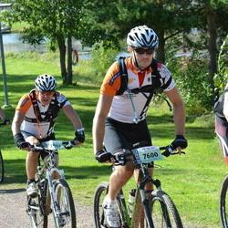 Cycling 90 km - Olof Sylvén (7600), Björn Furulind (7602)