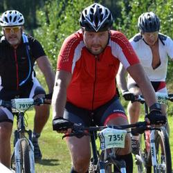 Cycling 90 km - Robert Thunell (7356), Henrik Martinsson (7919)