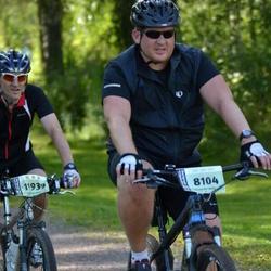 Cycling 90 km - Daniel Backman (8104), Stefan Gatu (11939)