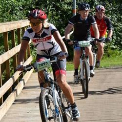 Cycling 90 km - Charlott Aston Brovall (7095)