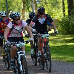 Cycling 90 km - Marianne Andersson (8143), Henrik Lönn (13083)