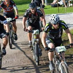 Cycling 90 km - Henrik Hamberg (14356), Fredrik Holmgren (15137)