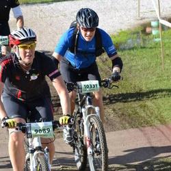Cycling 90 km - Bodil Ahlström (9089), Michael Åberg (10331)