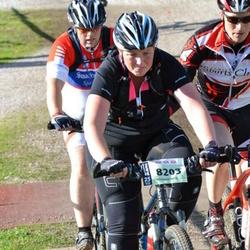 Cycling 90 km - Christine Falkö (8203)