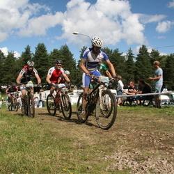 Cycling 90 km - Mikael Noren (981), Andreas Bergman (1312)