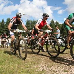 Cycling 90 km - Henrik Kapraali (974), Mikael Noren (981)