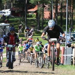Cycling 90 km - Jarle Hansen (5587), Inge Blomberg (6465)