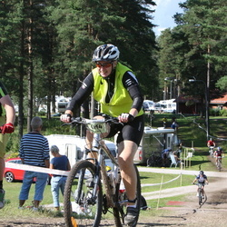 Cycling 90 km - Carina Thylen (6114), Jonas Arvidsson (6962)