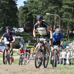 Cycling 90 km - Kjetil Stoltz (6103), Christian Olausson (6499), Andreas Wilander (7126)