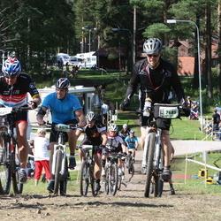 Cycling 90 km - Anders Svensk (7685), Jonathan Sundberg (8876)