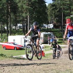 Cycling 90 km - Cecilia Stranneby (6853), Emelie Wiberg (7280)